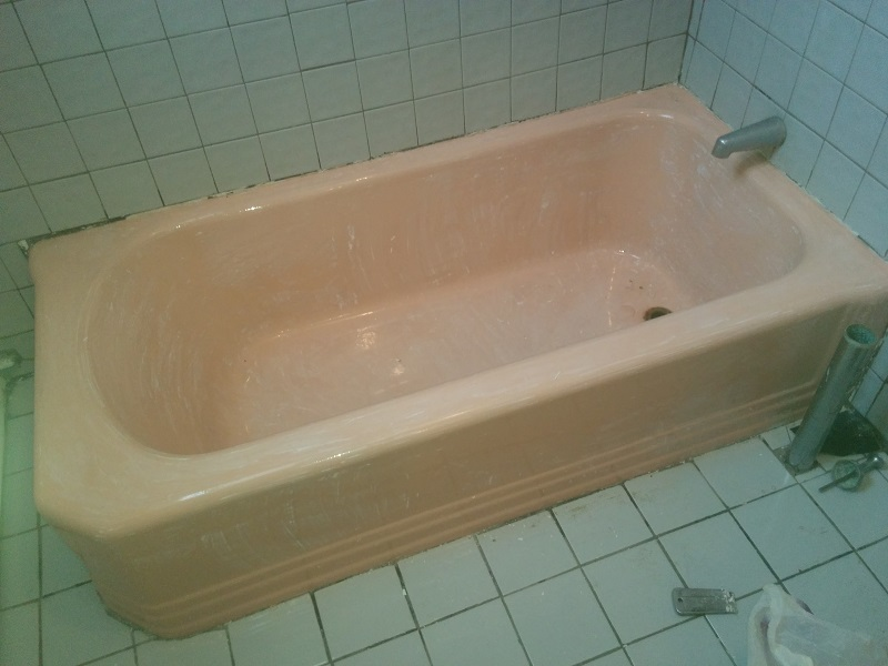 bathtub reglazing in Jersey City