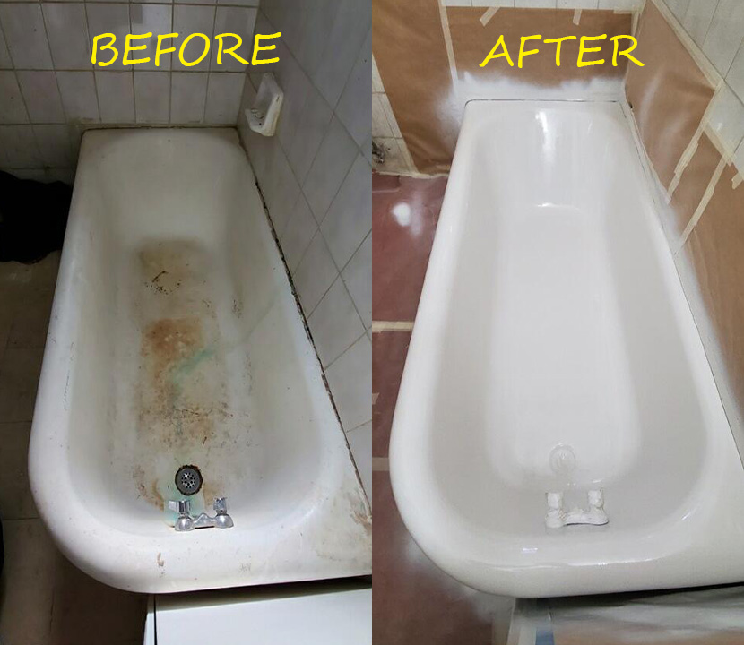 Bathtub Refinishing Tile Reglazing, Bathroom Reglazing Nyc